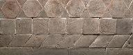 dove gray enamelled brick
