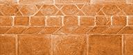 Old Rose enamelled bricks